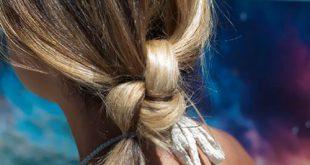 Kreative verknotete Frisuren für Neu