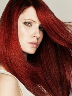 Smashing rote Haarfarbe 2013