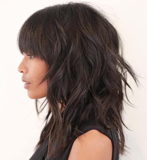 50 die meisten universellen modernen Shag Haircut-Lösungen