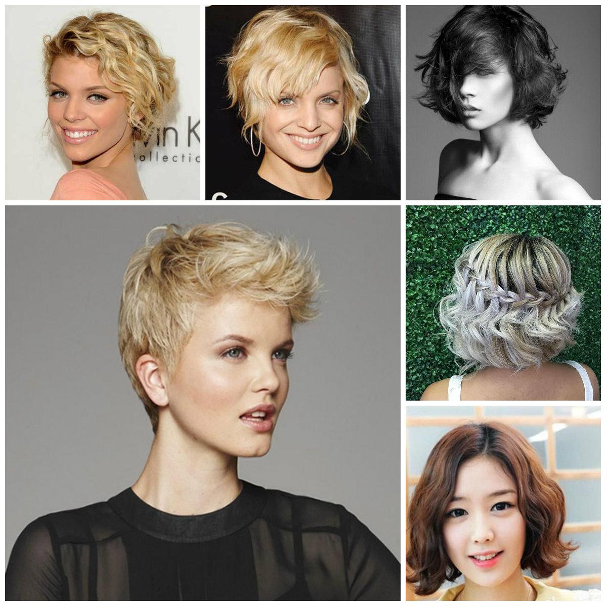 Neu beliebte kurze gewellte Frisuren