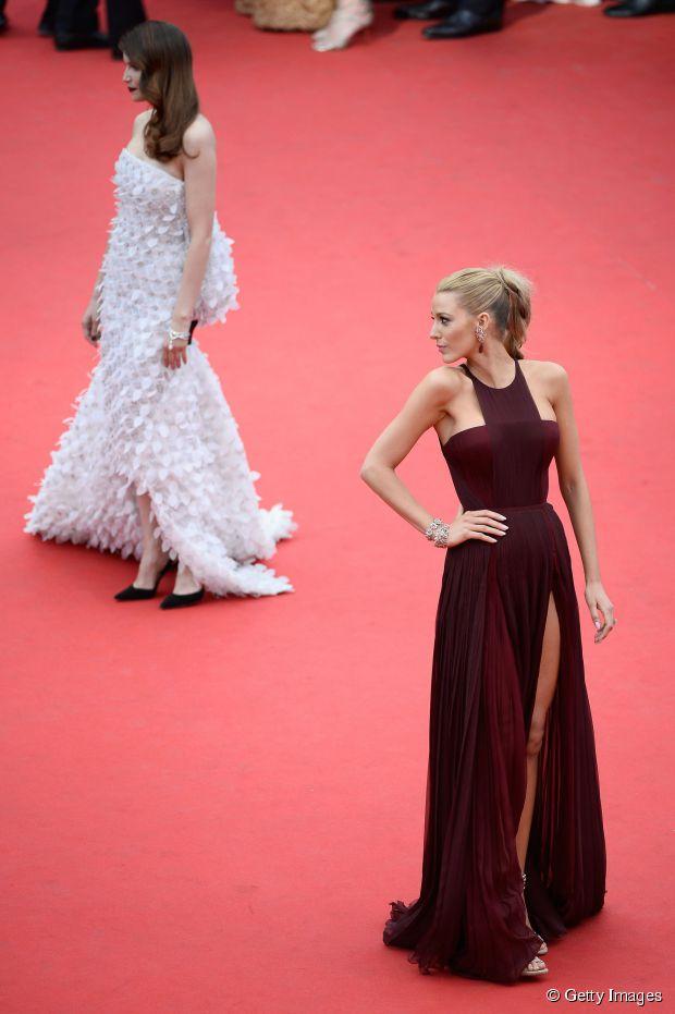 Cannes Neu: Beste Frisuren am ersten Tag mit Zoe Saldana + Blake Lively