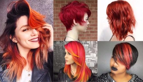 20 helle rote Frisuren, die brutzeln