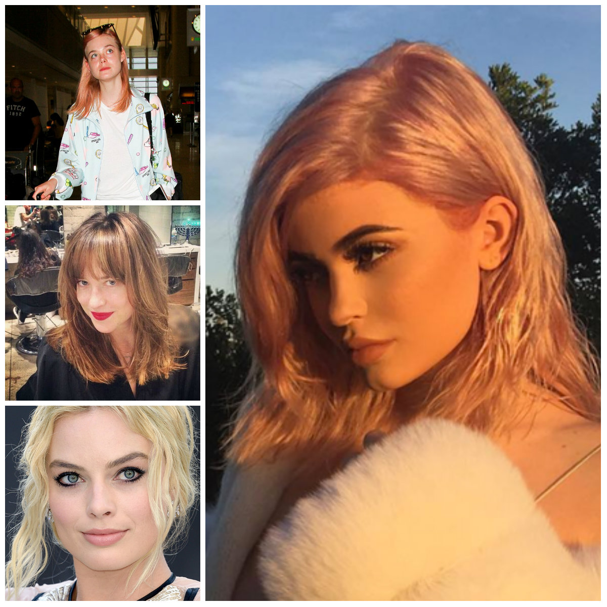Prominente inspiriert Haarfarben für Beste Frisur