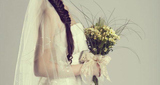 Braut-Haar-Tutorial: Floral Fischschwanz Zopf