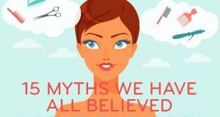 Haarpflege: 15 Mythen haben wir alle geglaubt und die Wahrheit hinter ihnen