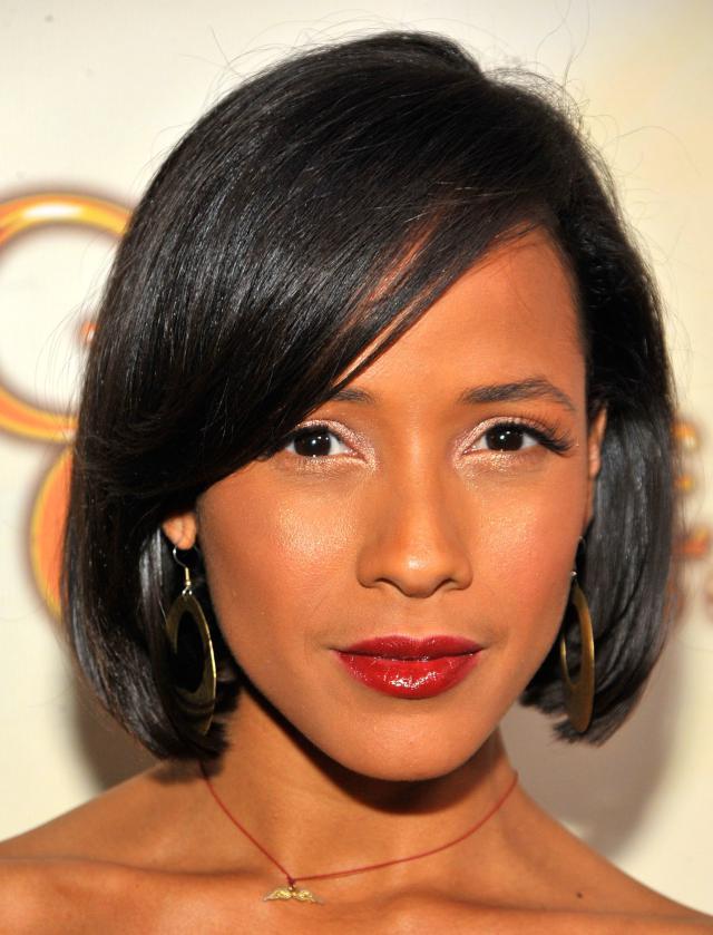 30 Charming Short Black Frisuren für Frauen