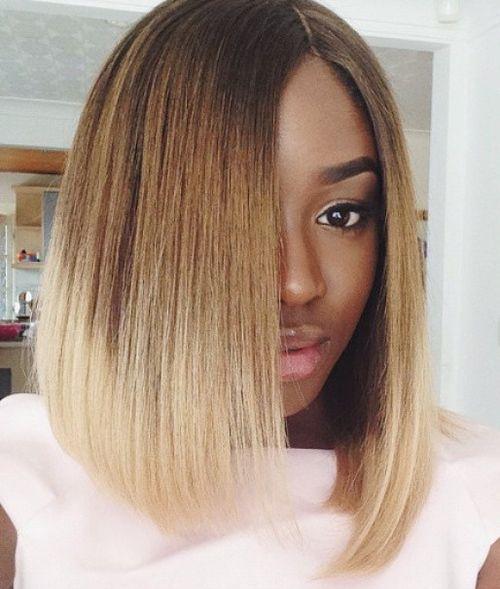 60 Showiest Bob Haarschnitte für schwarze Frauen