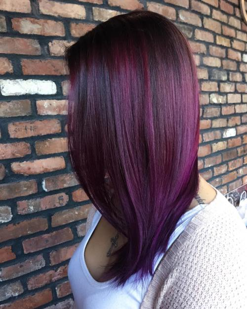 20 Plum Haarfarbe Ideen für Ihre nächste Umarbeitung