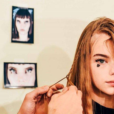 Edgy Hairstyle-Ideen von der Show Louis Vuittons Spring Neu