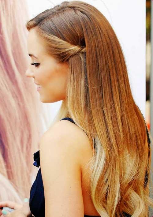 22 einfache und coole lange Frisuren für den Sommer