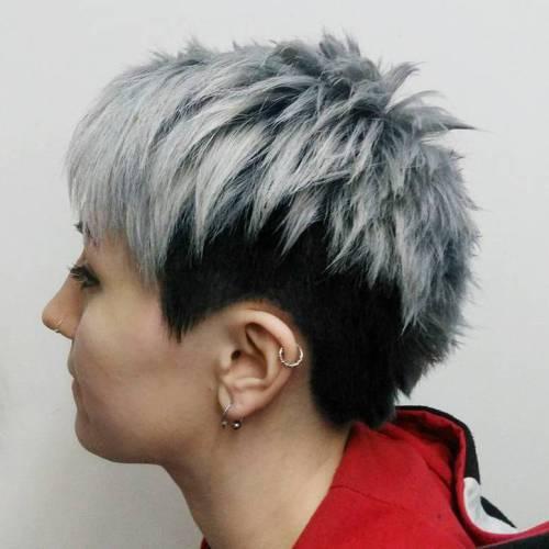 Pixie Haircuts für dickes Haar - 50 Ideen der idealen kurzen Haarschnitte