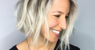 60 Super Chic Frisuren für lange Gesichter, um die Länge zu brechen