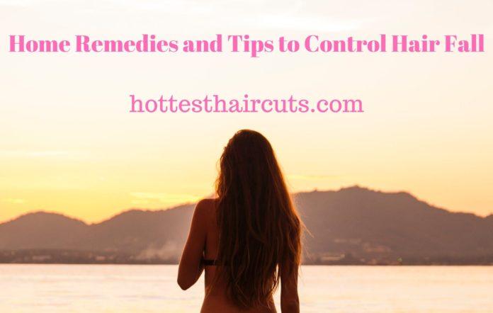 Home Remedies und Tipps zur Kontrolle Haar fallen