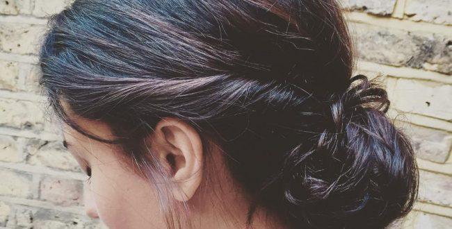 Neu unordentliche Brötchen Frisuren für Frauen