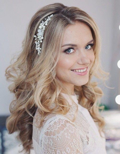 22 stilvolle Hochzeitsfrisuren für langes Haar