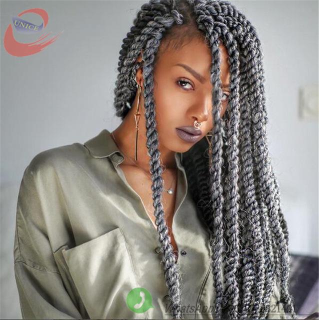 10 fabelhafte Crochet Zöpfe mit Kanekalon Haar