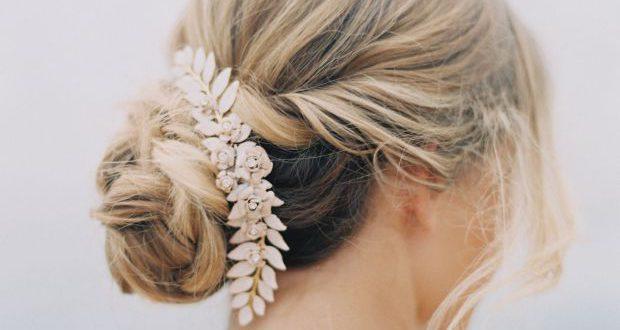 Wie man eine klassische Brauthochsteckfrisur für Ihren Hochzeitstag erhält