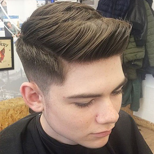 40 Neueste Side Parted Herren Frisuren