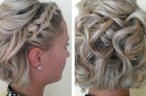 15 Spezielle Hochsteckfrisuren Für Kurze Frisuren Frisuren Für