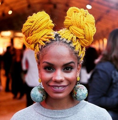 Top 20 All Rage Looks mit langen Box Braids