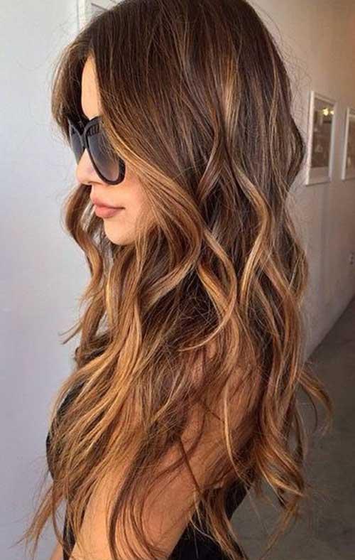 20 schönsten langen welligen Frisuren zu inspirieren Sie