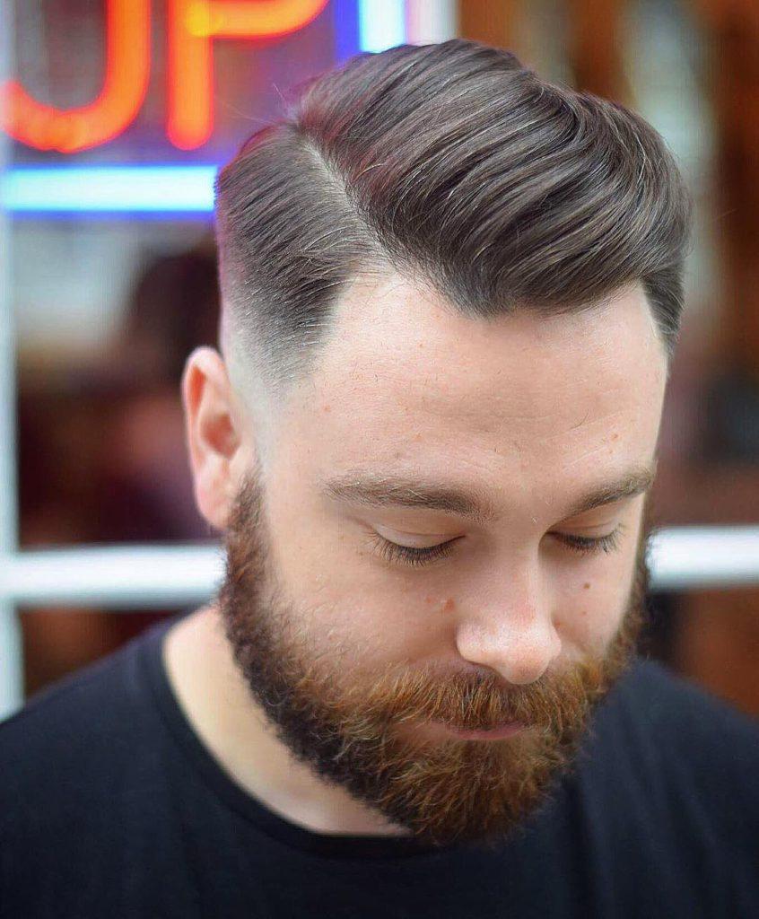 15 Herrenfrisuren für einen Haarausfall