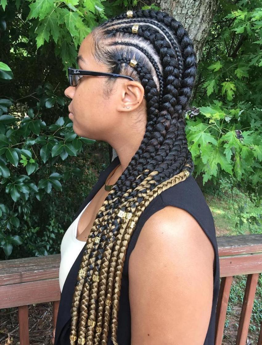 20 beeindruckende Ghana Zöpfe für einen ultimativen Diva Look