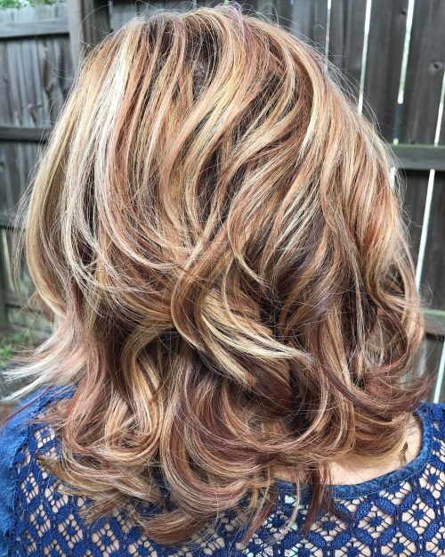 50 Am Meisten Magnetisierende Frisuren Fur Dickes Welliges Haar
