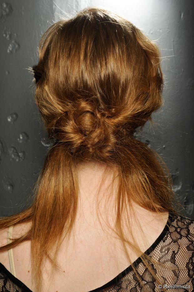 Frisuren für zwischendurch - Hochsteckfrisuren für ungewaschenes Haar