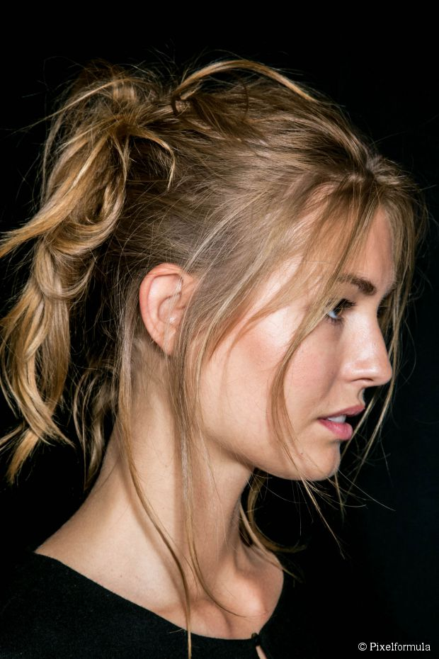 Tousled Pony How-To - Wochenend-Chic