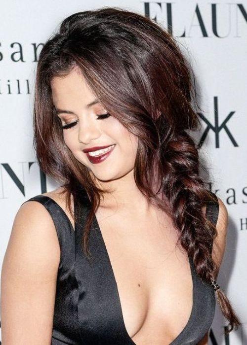 Heißeste Berühmtheit Brunette-Haar-Farben für Neu