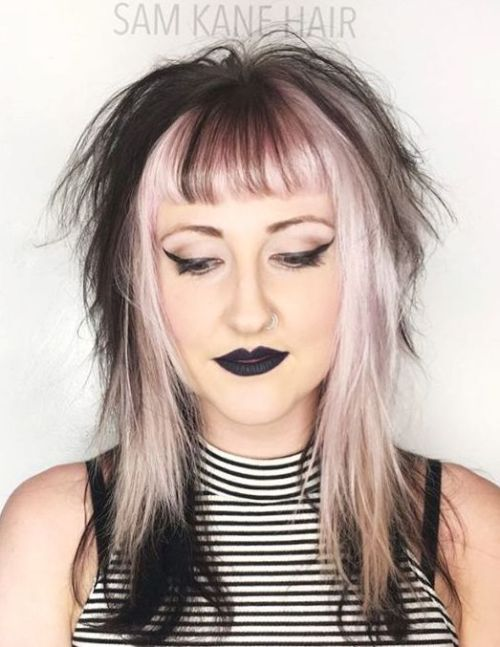 40 Zweifarbige Frisuren