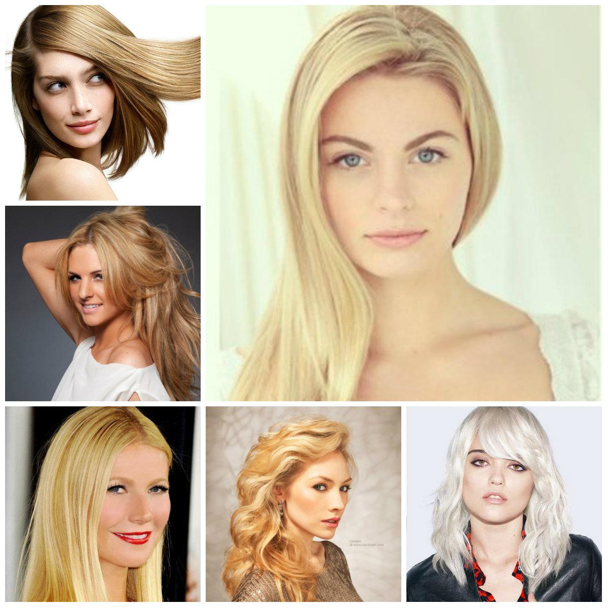 Neu Trendy Blonde Haarfarben
