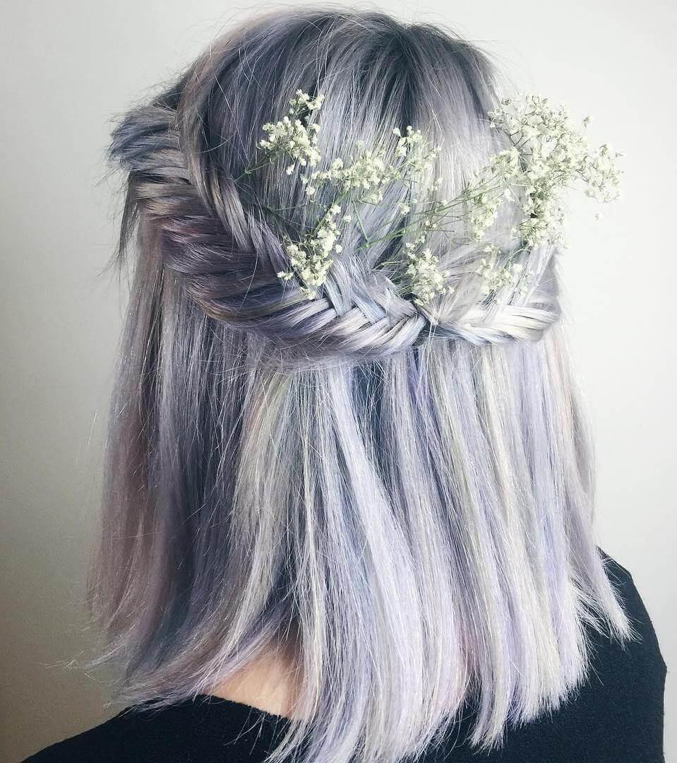 17 geflochtene Frisuren für kurze Haare - Look schöner mit diesem Haarschnitte