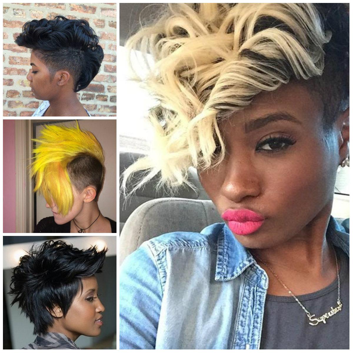 Frauen Mohawks Frisuren für Neu