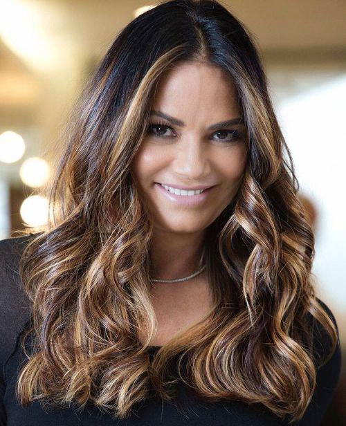 50 am meisten magnetisierende Frisuren für dickes welliges Haar