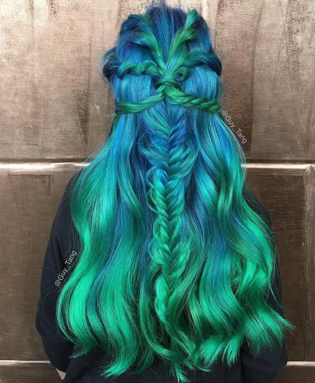 20 Möglichkeiten, grünes Haar zu rocken