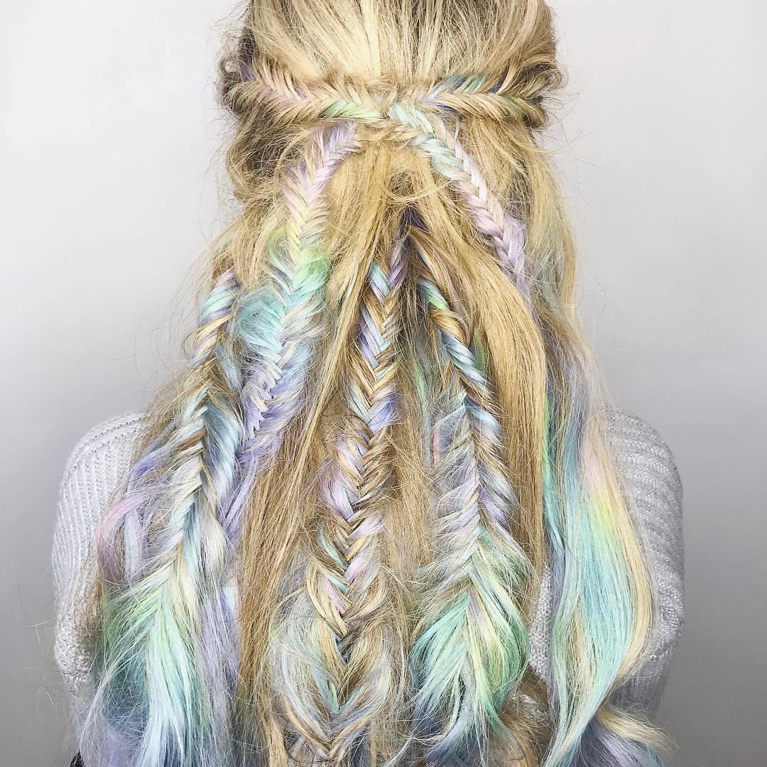 17 fabelhafte Fishtail Zöpfe Frisuren für Frauen
