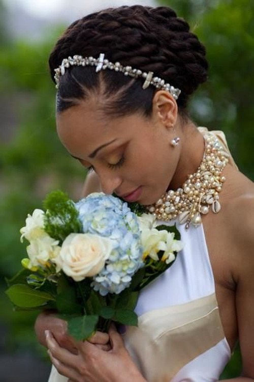 28 schwarze Hochzeit Frisuren für elegantes Aussehen
