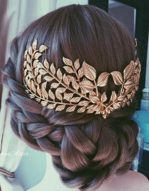 Griechische Göttin inspiriert Frisuren für Fashionistas