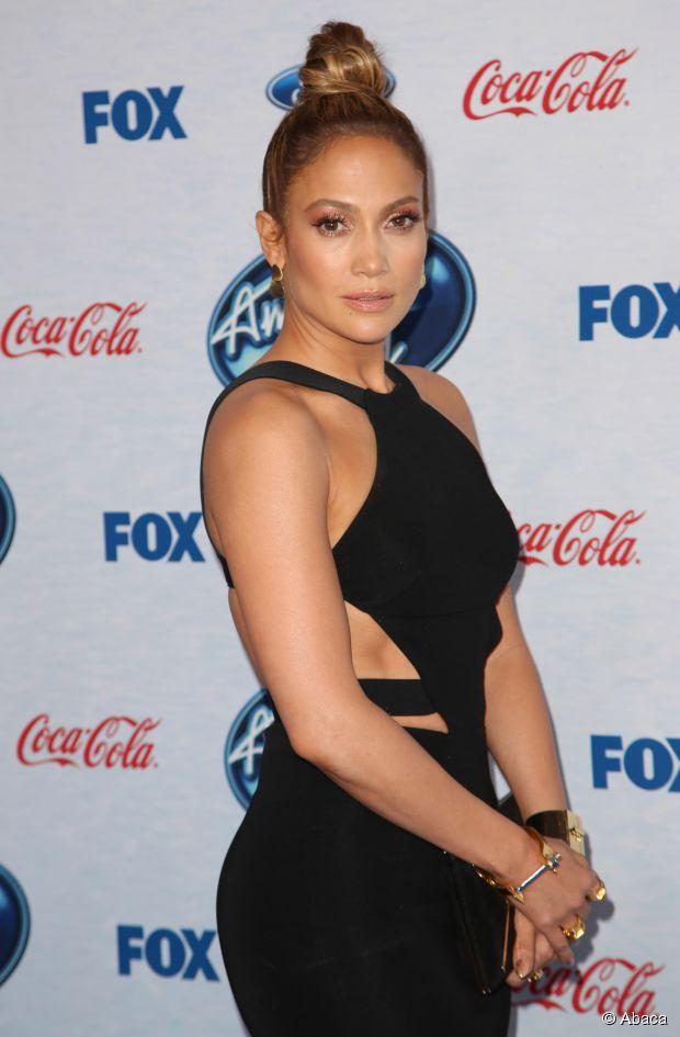 Weekend Haare von American Idol Richterin Jennifer Lopez