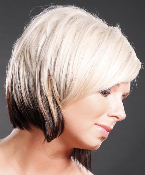 Neu Zweifarbige Haarfarben für kurze Haarschnitte