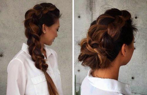 30 wunderschöne geflochtene Frisuren für langes Haar