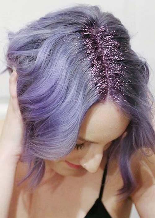 Unglaubliche Glitter Frisur Ideen