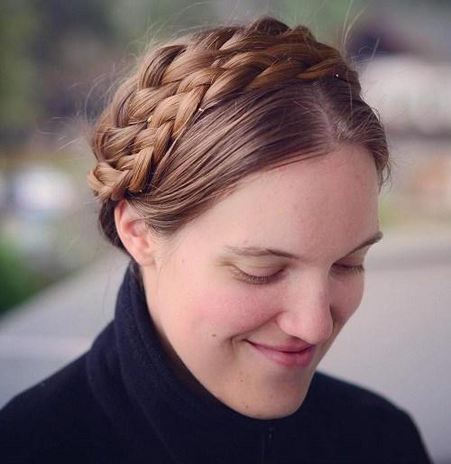 20 schicke Milkmaid Braid Ideen