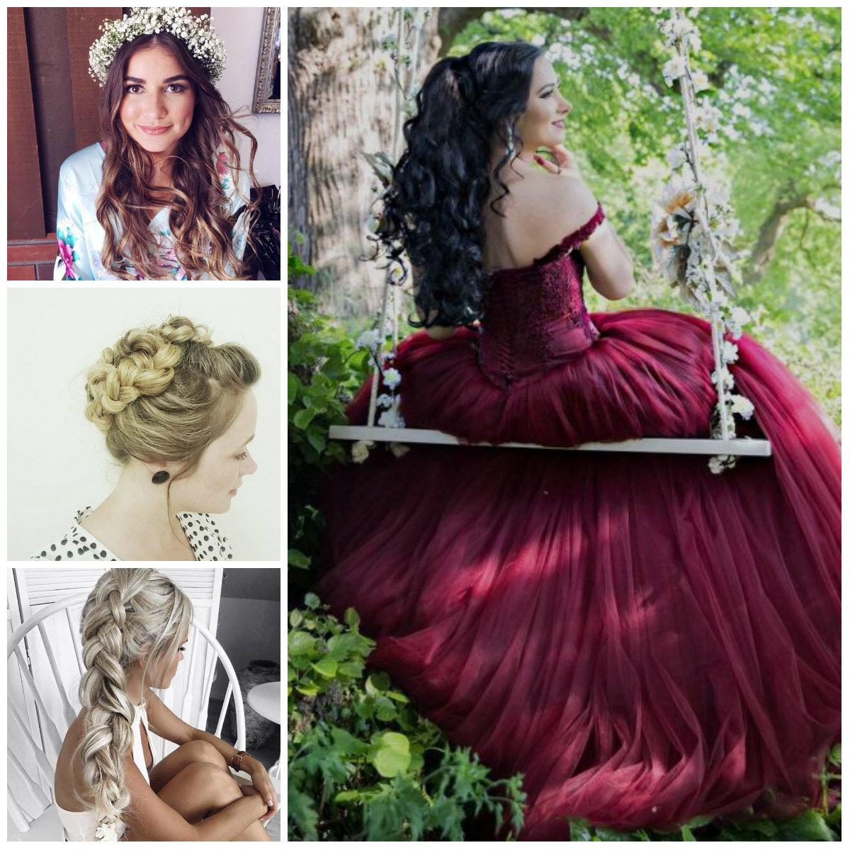 Neu Prom Frisuren Ideen für langes Haar