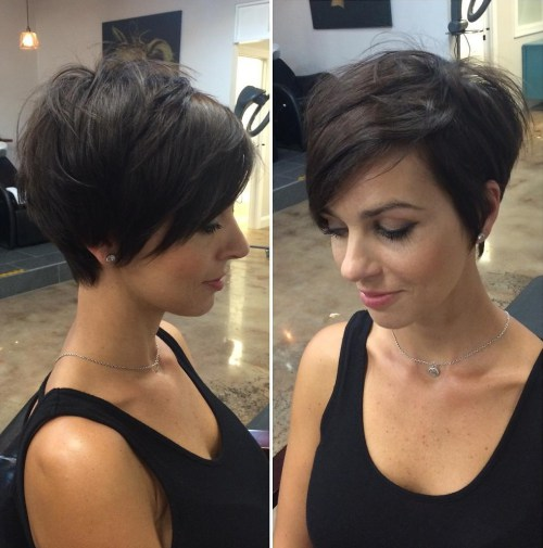 70 süße und leicht zu kurze Frisuren