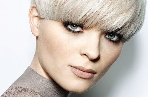 Neu Short Bowl Frisuren für glattes Haar