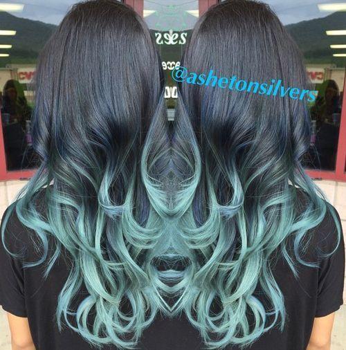 20 Pastel Blue Hair Color Ideen, die Sie versuchen müssen