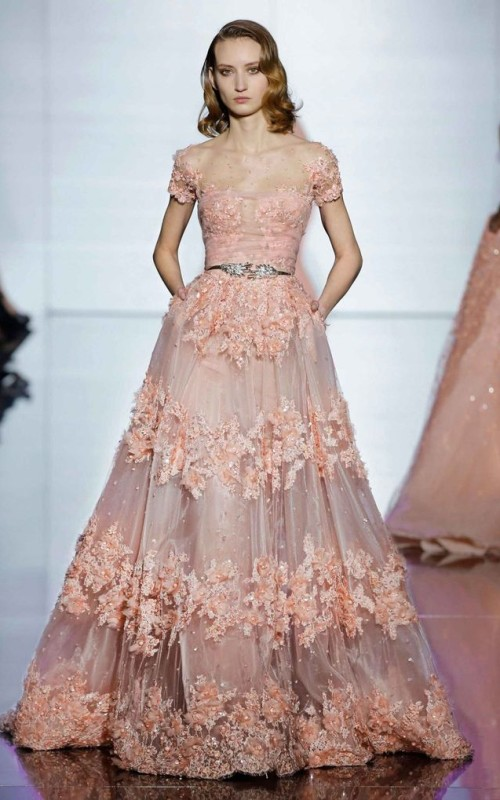 Retro Frisur Inspiration von Zuhair Murad Neu Fashion Shows